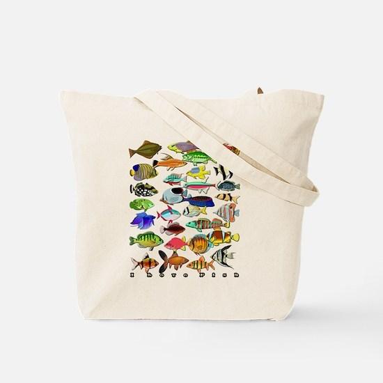 Cute Aquariums Tote Bag