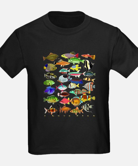 Cute Tropical fishes T