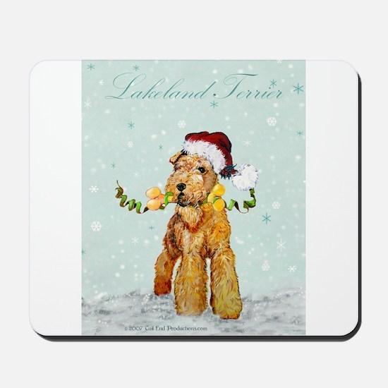 Lakeland Holiday Santa Mousepad