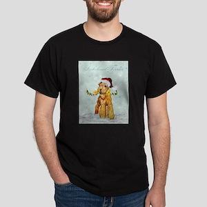 Lakeland Holiday Santa Dark T-Shirt