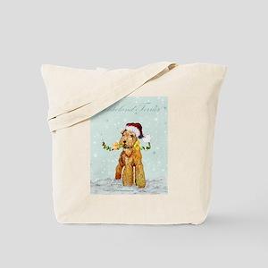 Lakeland Holiday Santa Tote Bag