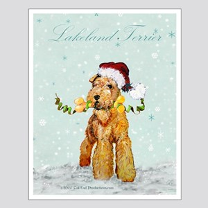 Lakeland Holiday Santa Small Poster