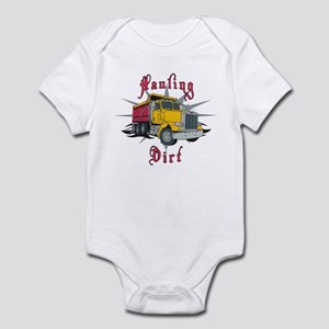Hauling Dirt Infant Bodysuit