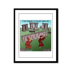 Changing TO DST Framed Panel Print