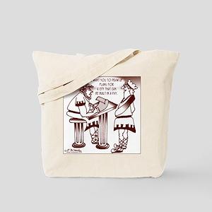 Ancient Roman Urban Planning Tote Bag