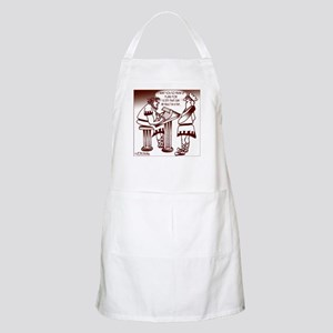 Ancient Roman Urban Planning BBQ Apron