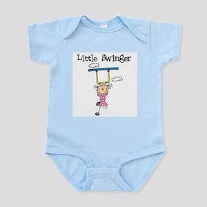 Little Swinger (girl) Infant Bodysuit