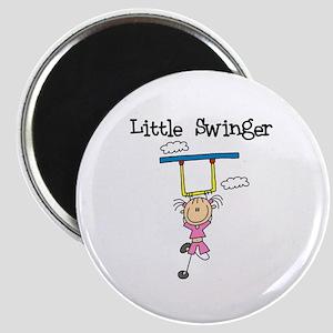 Little Swinger (girl) Magnet