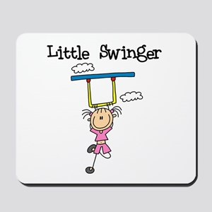Little Swinger (girl) Mousepad