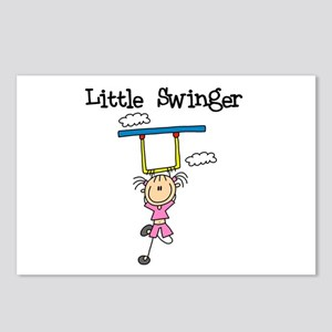 Little Swinger (girl) Postcards (Package of 8)