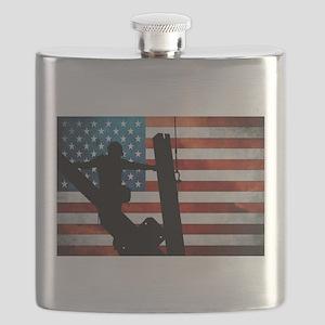 Ironworker Flask