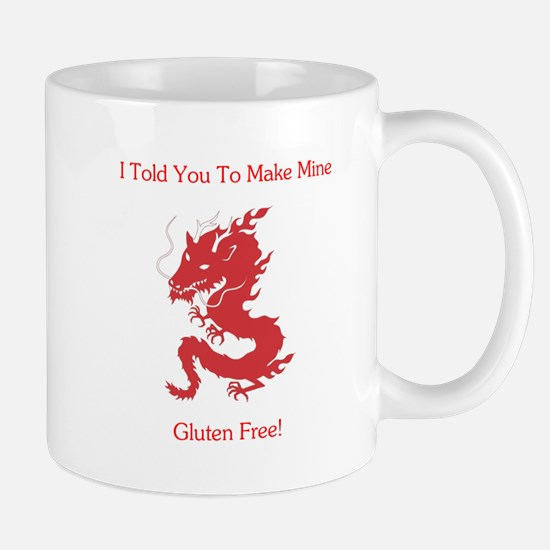 Gluten Free Dragon Mug