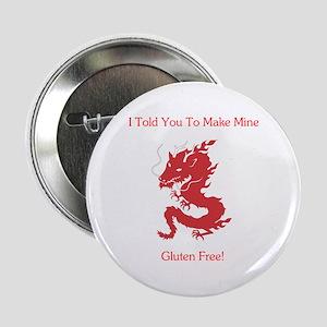 """Gluten Free Dragon 2.25"""" Button"""