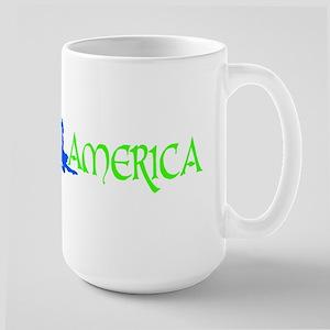 FA Logo Female Large Mug