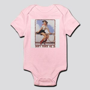 Cowgirl Don't Fence Me In Infant Bodysuit