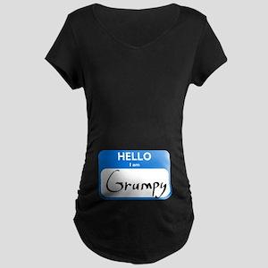 Grumpy Maternity Dark T-Shirt