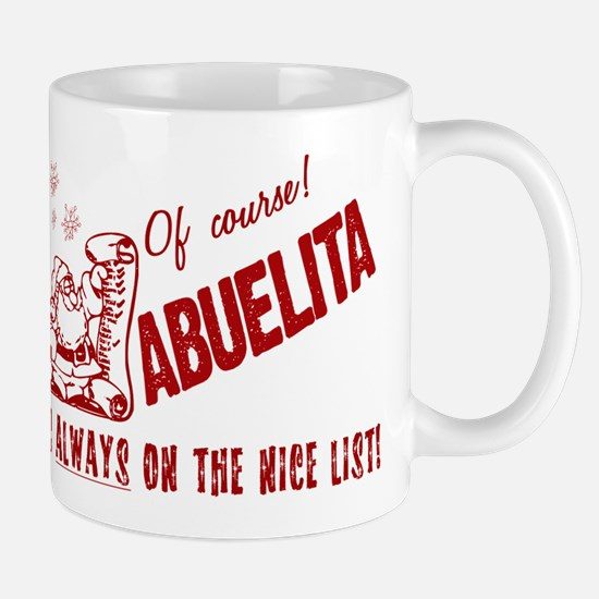 Nice List Abuelita Mug