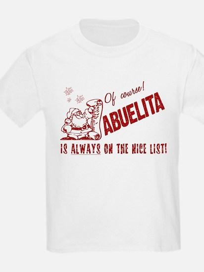 Nice List Abuelita T-Shirt