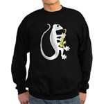 Gecko Saxophone Sweatshirt (dark)