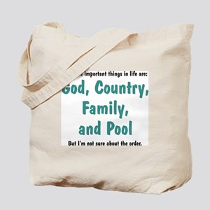 Pool Priority - Tote Bag
