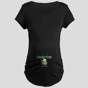 BRADY PUB Maternity Dark T-Shirt