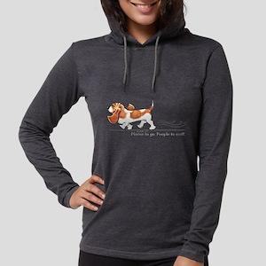 Basset Hound Places Long Sleeve T-Shirt