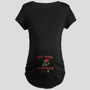 IRISH BRADYS Maternity Dark T-Shirt