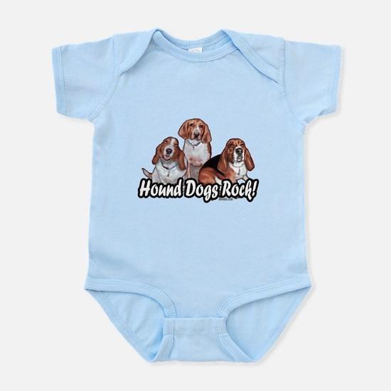 Hound Dogs Rock Infant Bodysuit
