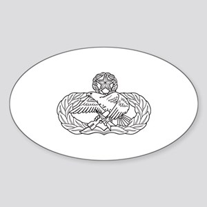 Maintenance Oval Sticker