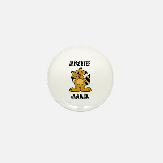 Mischief Maker Mini Button