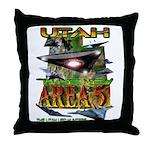 Utah The New Area 51 Throw Pillow
