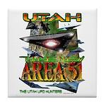 Utah The New Area 51 Tile Coaster