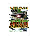Utah The New Area 51 Mini Poster Print