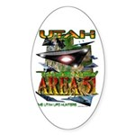 Utah The New Area 51 Oval Sticker