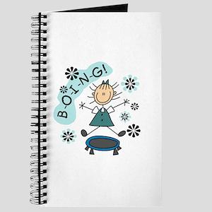 Girl on Trampoline Journal