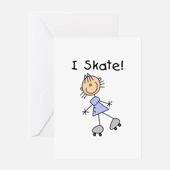 Girl I Skate Greeting Card