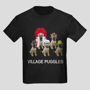 Village Puggles Kids Dark T-Shirt