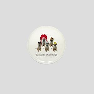 Village Puggles Mini Button
