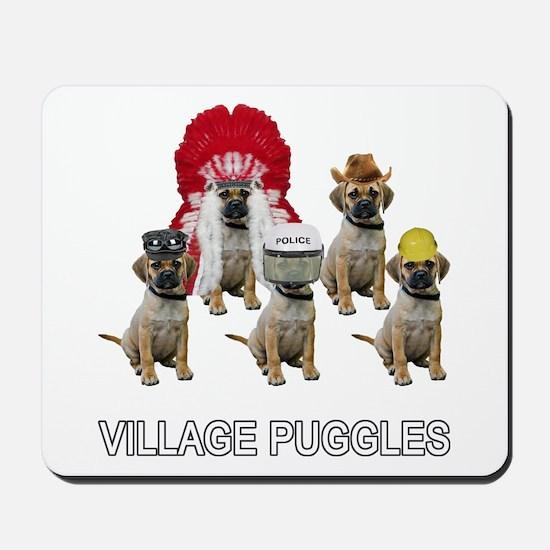 Village Puggles Mousepad