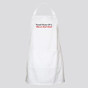 """Proud of My Clasic Ford Truck"" BBQ Apron"