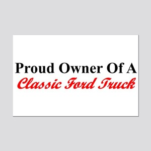 """""""Proud of My Clasic Ford Truck"""" Mini Pos"""
