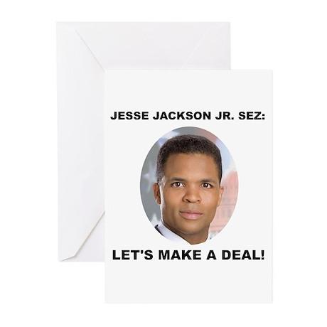 Jesse Jackson Jr. Greeting Cards (Pk of 20)