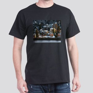 Snowy East Hillside Dark T-Shirt