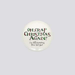 Christmas Crap Mini Button