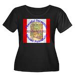 Arizona-1 Women's Plus Size Scoop Neck Dark T-Shir