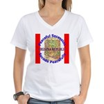 Arizona-1 Women's V-Neck T-Shirt