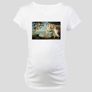 Birth of Venus Maternity T-Shirt