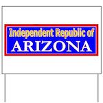 Arizona-2 Yard Sign