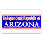 Arizona-2 Rectangle Sticker 50 pk)