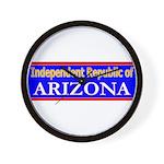 Arizona-2 Wall Clock